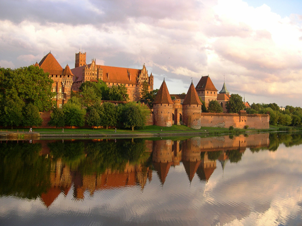Malbork Castle - one of the most popular and beautiful castles in Poland