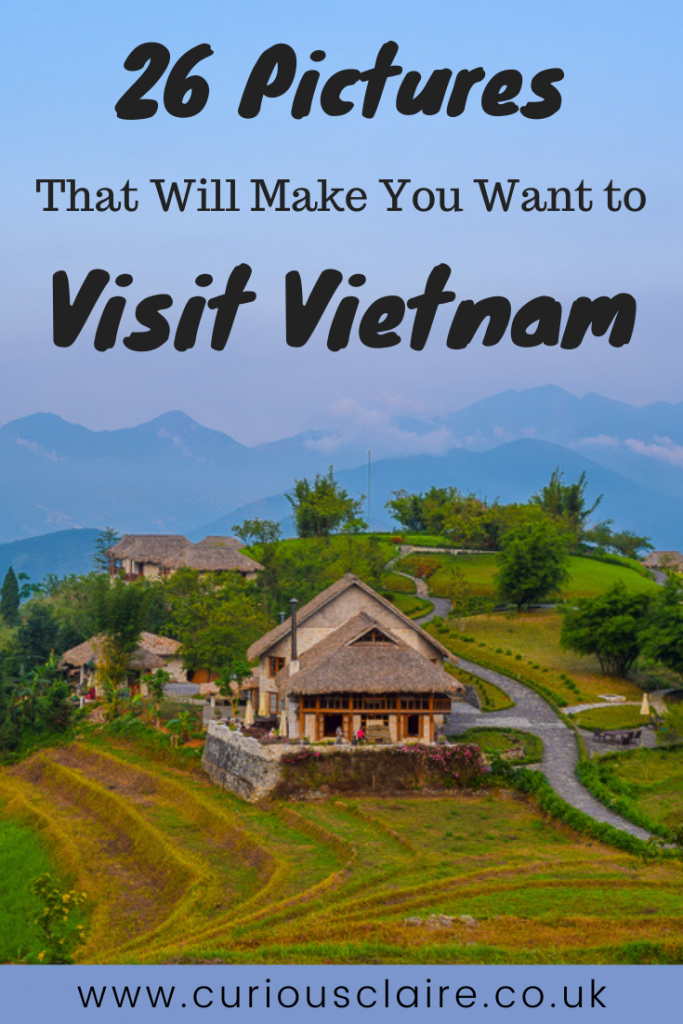Vietnam is such a beautiful country. Here are 26 pictures of Vietnam that will hopefully inspire you to visit to this amazing country #vietnam #asia #travelpics   Vietnam Travel   Visit Vietnam   Places to Visit in Vietnam   Travel Pictures   Travel Photography