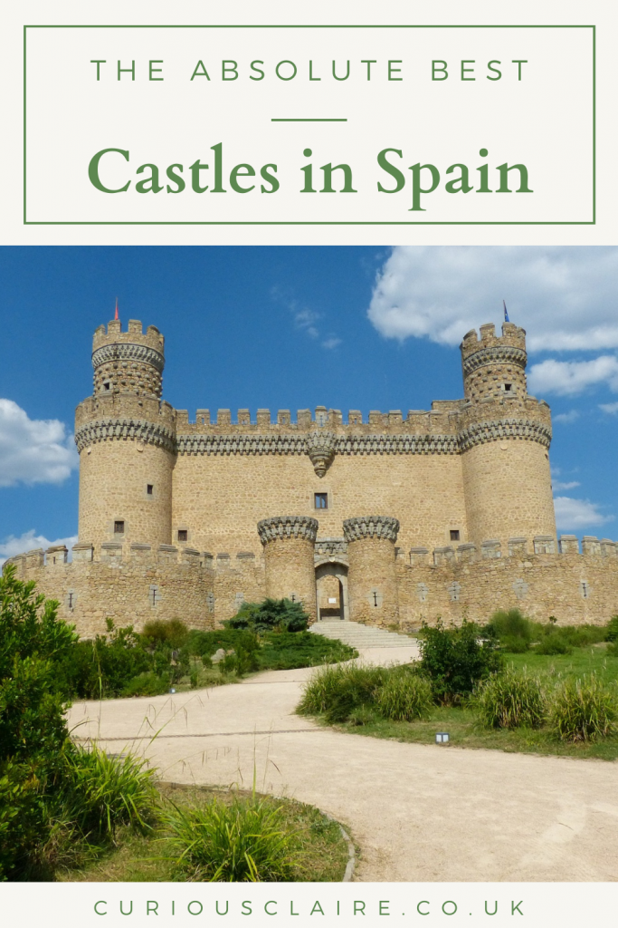 Looking for an amazing castle in Spain to visit? There are so many beautiful castles in Spain to choose from so here is a list of the best castles in Spain - here there is a castle for everyone to enjoy | Spain Itinerary | Things to do in Spain | Day Trips in Spain | Spanish Castles | Castles in Europe