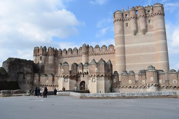 Castillo de Coca - one of the most beautiful castles in Spain