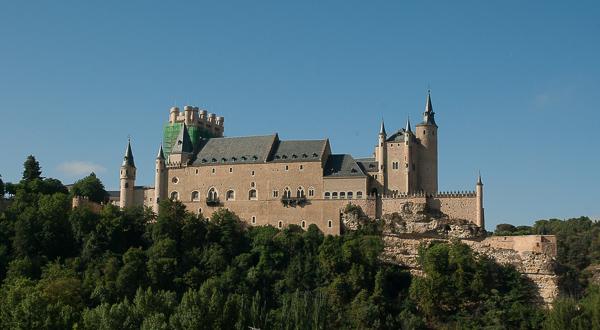 Alcazar de Segovia - one of the best castles in Spain