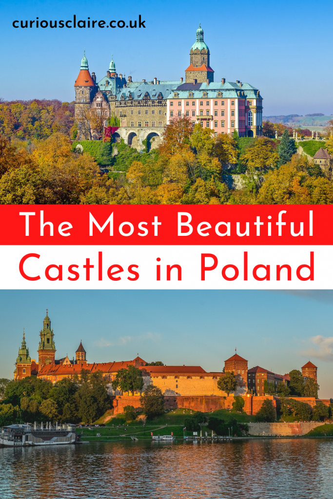 Looking for an amazing castle in Poland to visit? There are so many beautiful castles in Poland to choose from so here is a list of the best castles in Poland - here there is a castle for everyone to enjoy | Poland Itinerary | Things to do in Poland | Day Trips in Poland | Polish Castles | Castles in Europe