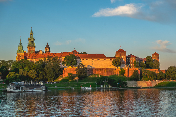 Wawel Royal Castle - one of the most visited castles in Poland